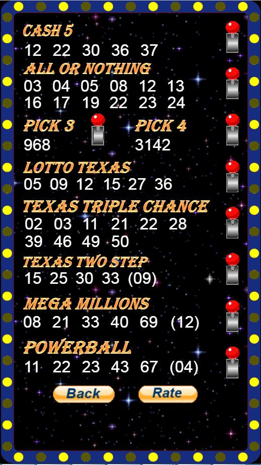 Texas Lottery Quick Pick for Android - APK Download