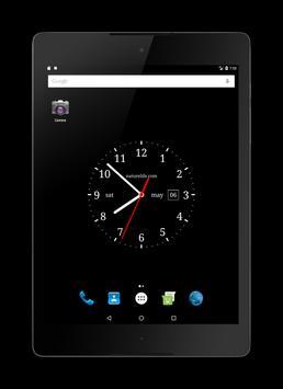 Аналоговые часы(живые обои) screenshot 3