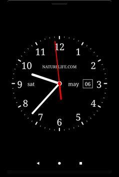 Аналоговые часы(живые обои) screenshot 4