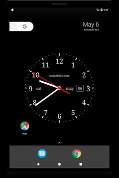 Аналоговые часы(живые обои) screenshot 5