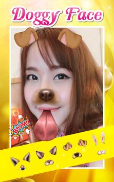 Selfie Doggy Face - Snap Face poster