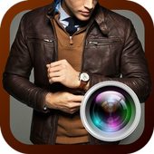 Jacket Suit Photo Camera icon
