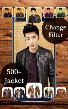 Jacket Suit Photo Camera apk screenshot