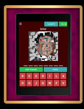 Guess the celebrity quiz screenshot 12
