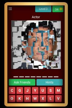 Guess the celebrity quiz screenshot 3