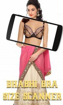 Bhabhi Bra Size Scanner Prank apk screenshot