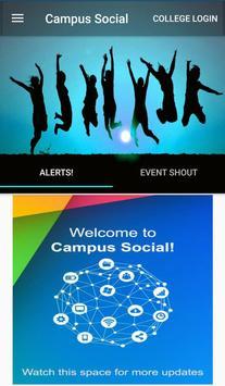 Campus Social poster