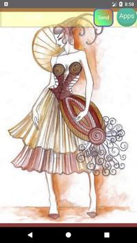 Fashion design sketches screenshot 10