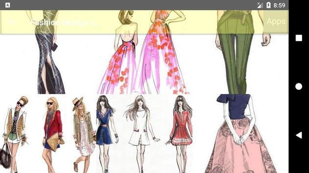 Fashion design sketches screenshot 12