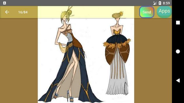 Fashion design sketches screenshot 24