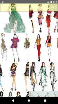 Fashion design sketches screenshot 2