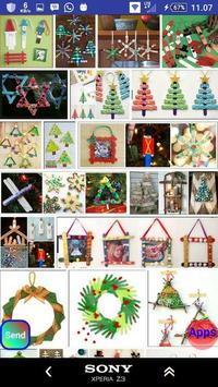 Christmas stick crafts screenshot 16