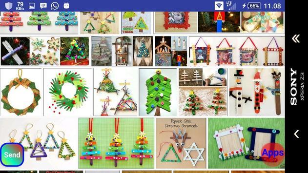 Christmas stick crafts screenshot 17