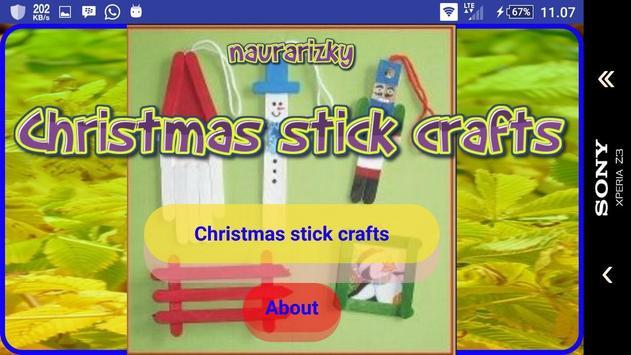 Christmas stick crafts screenshot 1