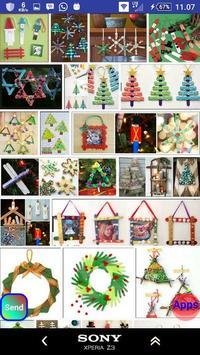 Christmas stick crafts screenshot 9