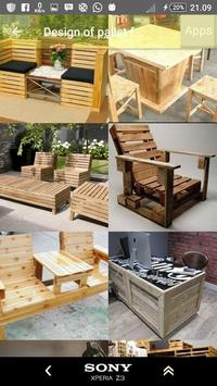 Design of pallet furniture screenshot 15