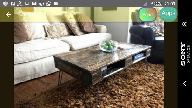 Design of pallet furniture screenshot 25
