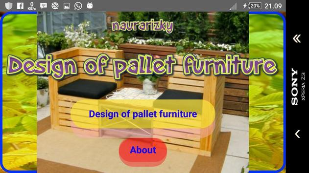 Design of pallet furniture screenshot 21
