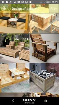 Design of pallet furniture screenshot 2