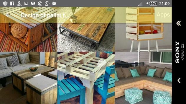 Design of pallet furniture screenshot 3