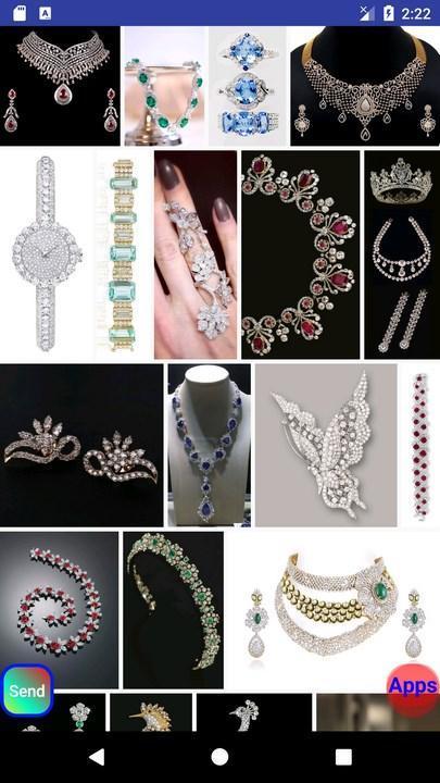 Diamond Jewelry Design poster