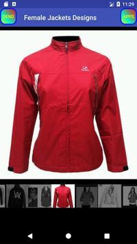 Female Jackets Designs imagem de tela 12