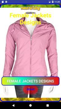 Female Jackets Designs imagem de tela 1