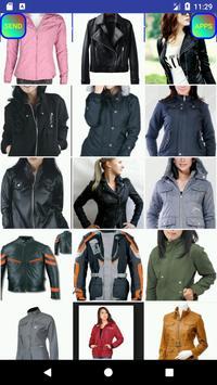 Female Jackets Designs imagem de tela 27