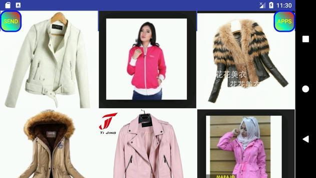 Female Jackets Designs imagem de tela 21