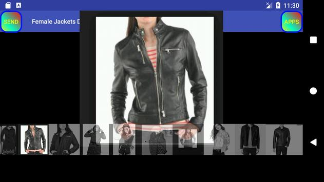 Female Jackets Designs imagem de tela 22