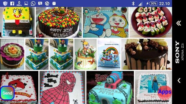 Creative cake tart characters screenshot 1