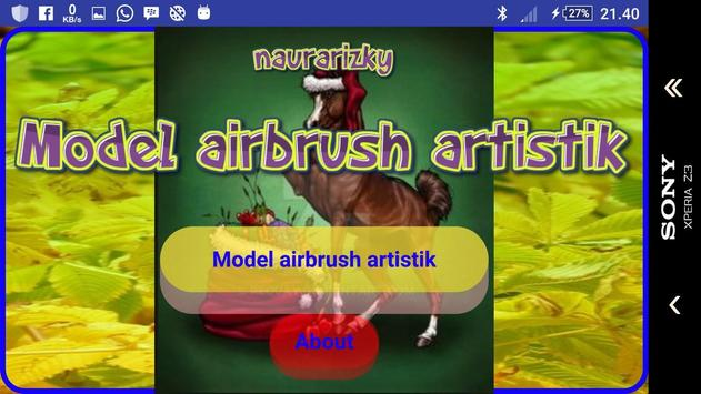 Airbrush artistic design screenshot 1