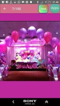 Model of child's birthday decoration screenshot 22