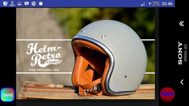 Current helmet model apk screenshot