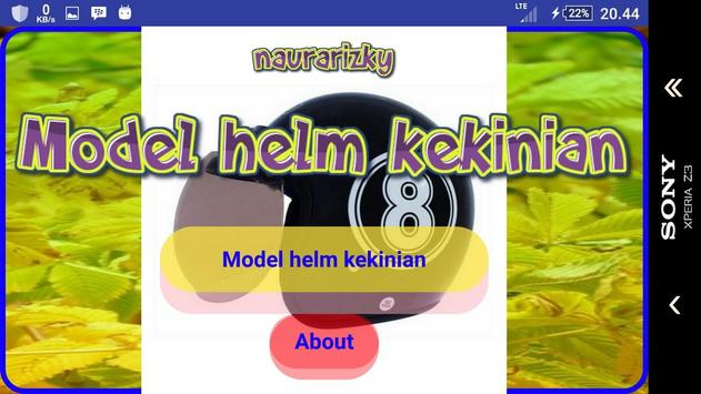 Current helmet model screenshot 1