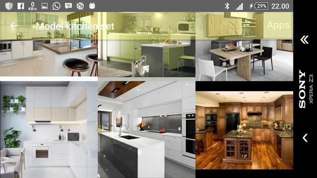Model kitchen set screenshot 7