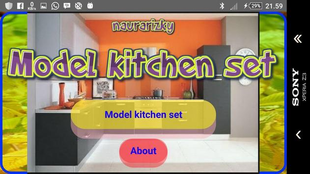 Model kitchen set screenshot 1