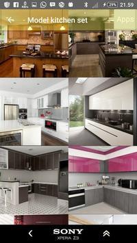 Model kitchen set screenshot 2