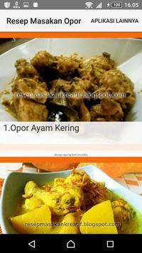 Resep Masakan Opor screenshot 1
