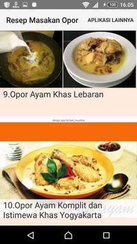 Resep Masakan Opor screenshot 2