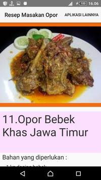 Resep Masakan Opor screenshot 4