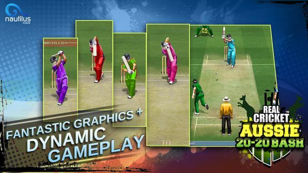 Real Cricket ™ Aussie 20 Bash screenshot 16