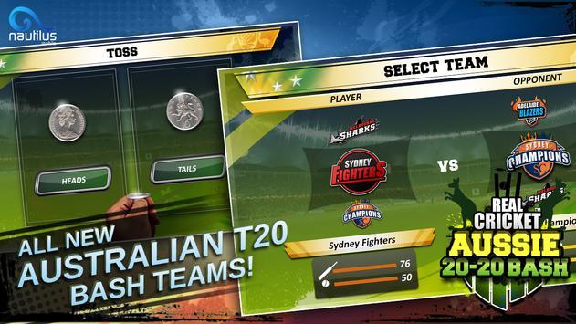 Real Cricket ™ Aussie 20 Bash स्क्रीनशॉट 4