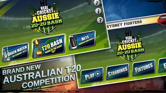 Real Cricket ™ Aussie 20 Bash स्क्रीनशॉट 6