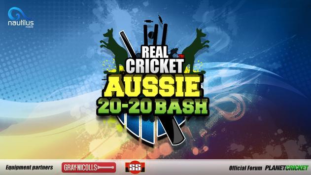 Real Cricket ™ Aussie 20 Bash स्क्रीनशॉट 7