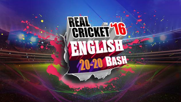 Real Cricket™ 16: English Bash पोस्टर