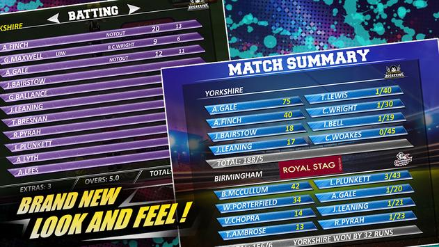 Real Cricket™ 16: English Bash स्क्रीनशॉट 10
