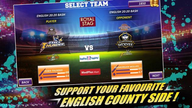 Real Cricket™ 16: English Bash स्क्रीनशॉट 8
