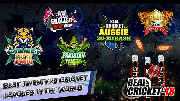 Real Cricket™ 18 постер