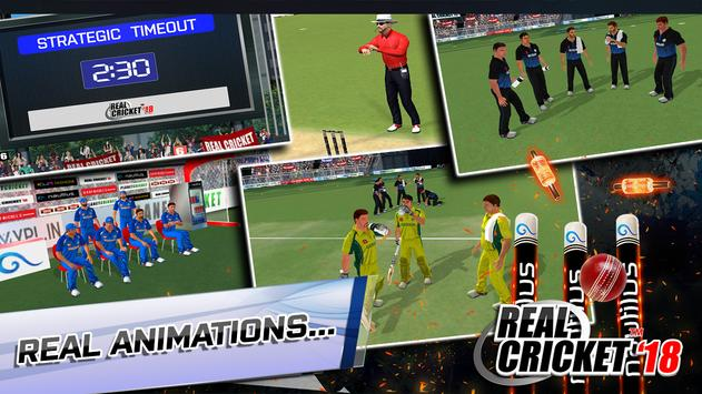 Real Cricket™ 18 स्क्रीनशॉट 1